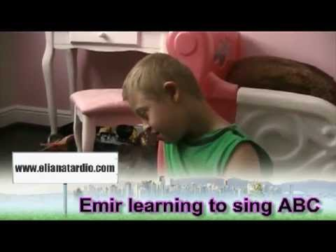 Watch video Down Syndrome: Learning to sing the ABC