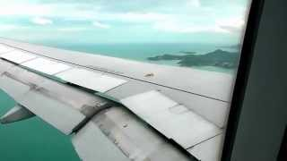 Landing At Koh Samui