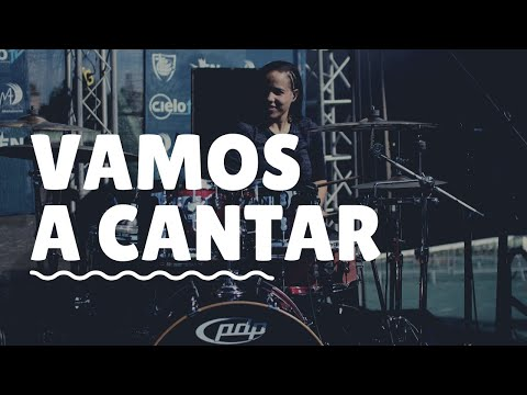 Vamos A Cantar | Kelly KC | Drum Cover | Live |