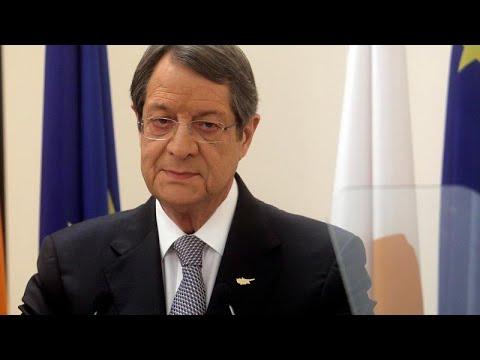 Αναστασιάδης στο euronews: Στο πλευρό μας οι Ευρωπαίοι εταίροι…