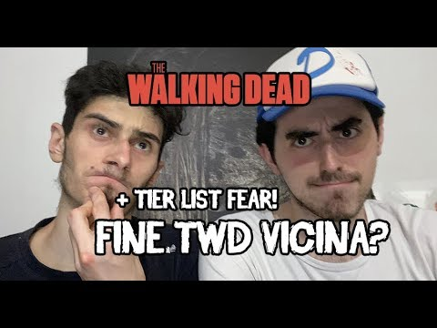 The Walking Dead 10 ITA -  LA FINE DI TWD E' VICINA? LIVE DISCUSSIONE ASCOLTI TWD + TIER LIST FEAR!