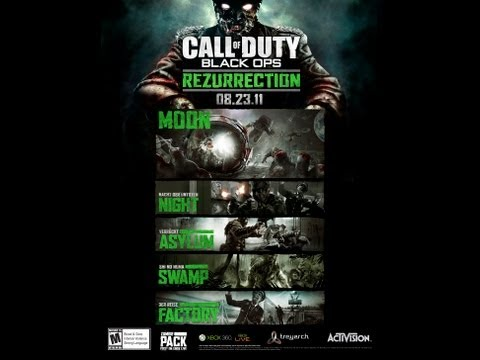 NEW Black Ops: ESCALATION Map Pack 2 Information/Analysed/Decoded ...