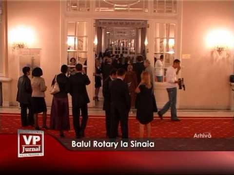 Balul Rotary la Sinaia