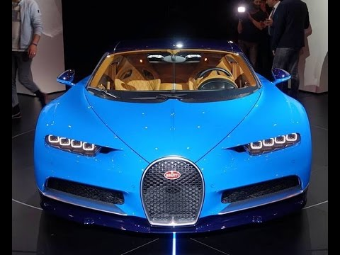 العرب اليوم - بوغاتي تشيرون Bugatti Chiron في حدث إطلاقها الرسمي الأول
