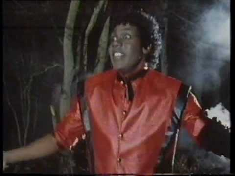 thriller - The 80's comedian's take on Thriller video/song.