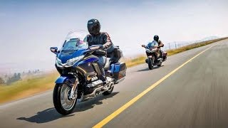 5. Leaked 2018 Honda Gold Wing shows off new suspension, hints at DCT