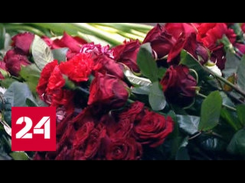 Виталий Чуркин похоронен на Троекуровском кладбище - DomaVideo.Ru