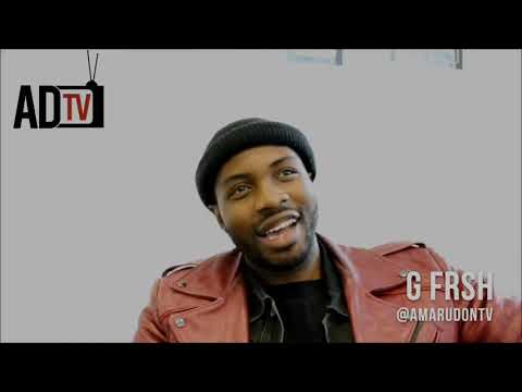 """G Frsh Interview: """"Motivation, Problems and Solutions""""   2013 (Revisited) Amaru Don TV"""