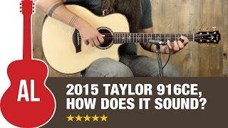Download Lagu 2015 Taylor 916ce Standard Review Mp3