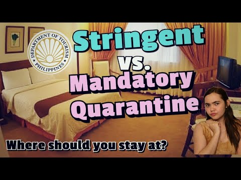 TRAVELING TO THE PHILIPPINES?THIS IS WHERE YOU MUST QUARANTINE: 2 TYPES & FREE GOVERNMENT FACILITY