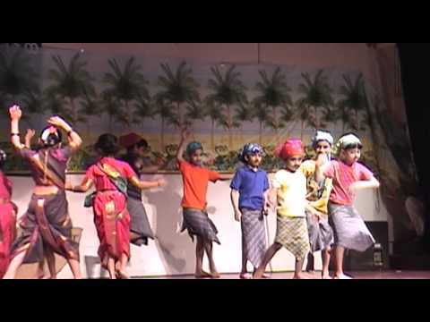 Marathi folk song - Marathi Class Kids of Valley Ranch - Coppell , dance to the tune of -
