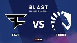 FaZe vs Liquid, cache, BLAST Pro Series Sao Paulo 2019