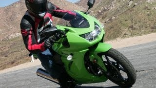 3. 2008 Kawasaki Ninja 250R First Ride - MotoUSA