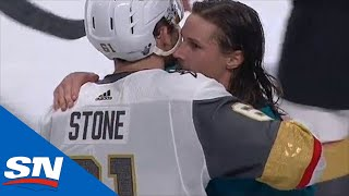 Sharks and Golden Knights Shakes Hands After Wild Game 7 by Sportsnet Canada