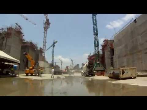 Construction of the New Locks of the Panama Canal (Atlantic)