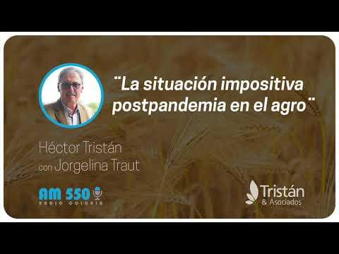 Héctor Tristán con Jorgelina Traut: La situación impositiva postpandemia en el agro