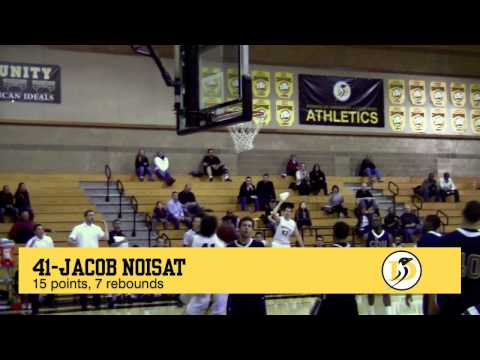 California Baptist vs. Dominican (CA) Men's Basketball Highlights (Jan. 7, 2012)