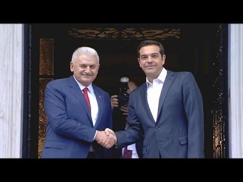 Το 24ωρο του Τούρκου πρωθυπουργού σε Αθήνα και Θράκη