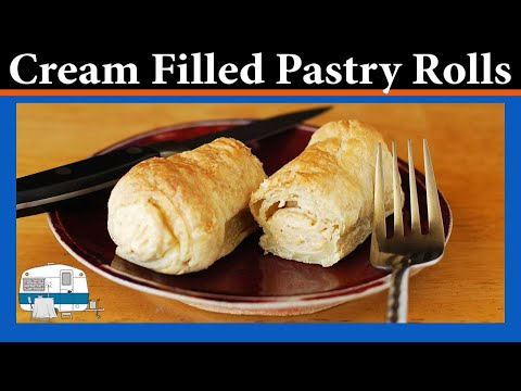 How To Make Cream Filled Pastry Rolls