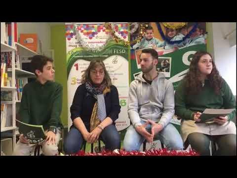 Reportaje de los alumnos del colegio La Presentación FEDS a la Asociación de Belenistas de Villava (Diciembre 2019)
