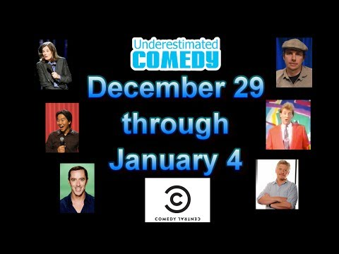 This Week in Comedy History Dec 29 - Jan 4