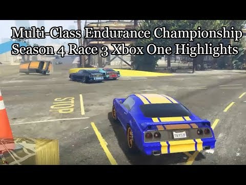 GTA Online Multi-Class Endurance Championship Season Four Race 3 Xbox One Highlights