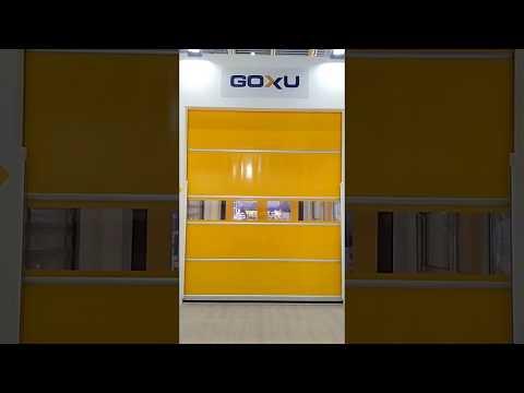 Aluroll | Alüminyum Hızlı PVC Kapı