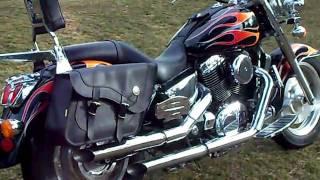 9. One Bad Honda shadow 1100