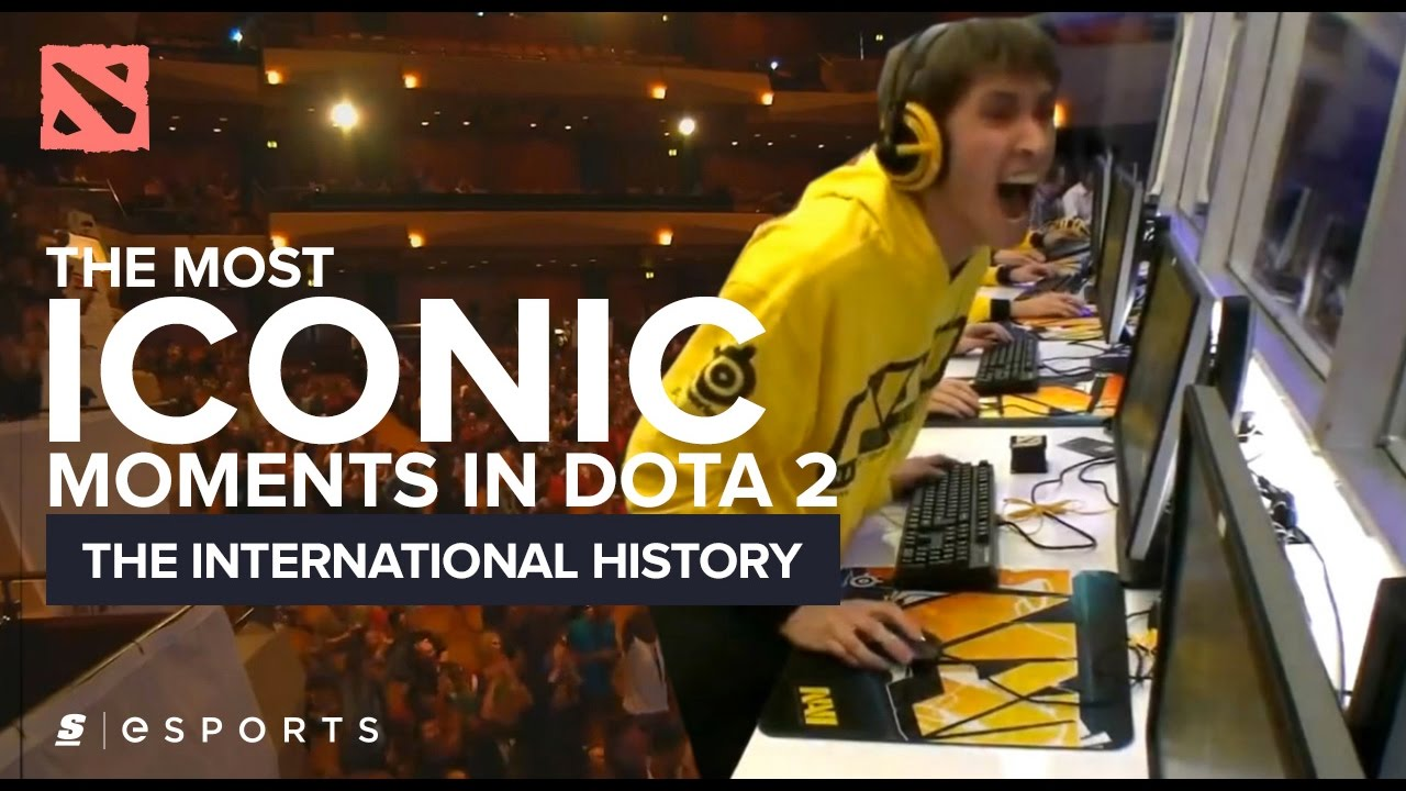 The Most ICONIC Moments in The International History (Dota 2) - YouTube