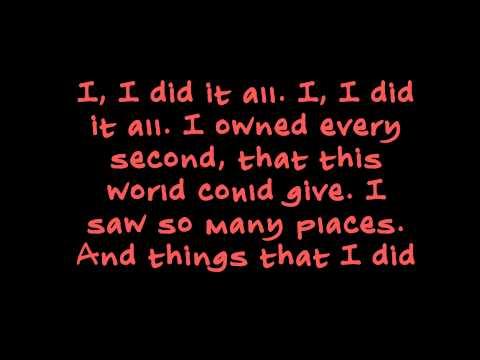 OneRepublic – I Lived (Lyric Video)