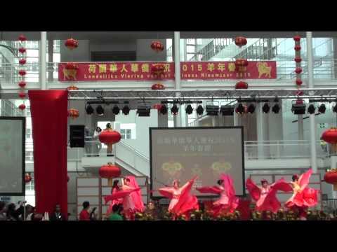 今天是你的生日在海牙慶祝羊年演出 ( Vieren Chinees nieuw jaar in Den Haag )