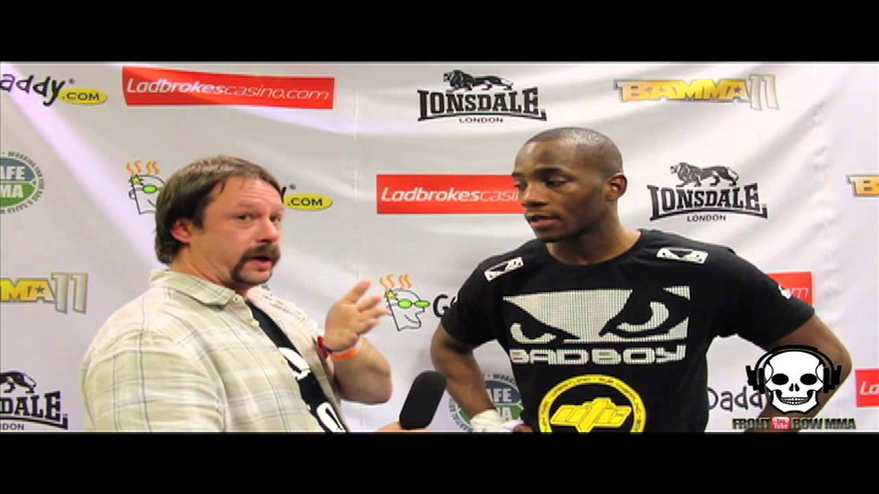 Leon Edwards Post Fight Interview at BAMMA 11