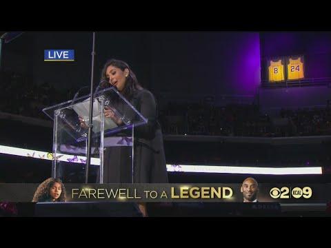 """Video - """"Δάκρυσε"""" το Staples Center στο τελευταίο """"αντίο"""" του Κόμπι Μπράιαντ"""
