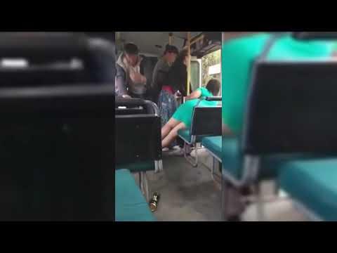Обзор ДТП и ЧП. Драка в автобусе...