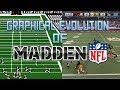 Graphical Evolution Of Madden Nfl 1988 2018
