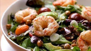 How to Make a Seared Shrimp and Avocado Salad Recipe • Tasty by Tasty