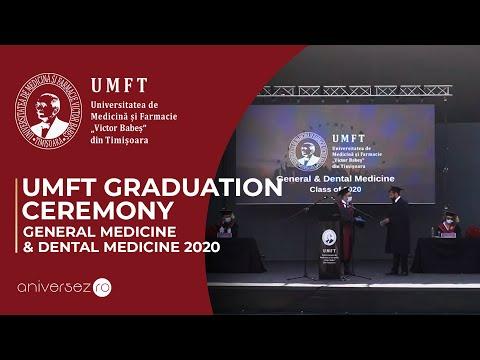 UMFT | Graduation Ceremony: General Medicine & Dental Medicine, Class of 2020