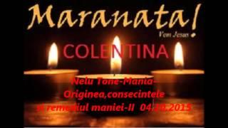Nelu Tone-Mania-Originea,consecintele si remediul maniei II-04.10.2015