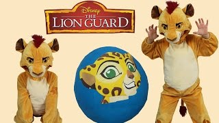 Disney The Lion Guard Super Giant Toys Surprise Egg Opening To...