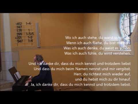 Wo ich auch stehe, du warst schon da - Gerhard Müller