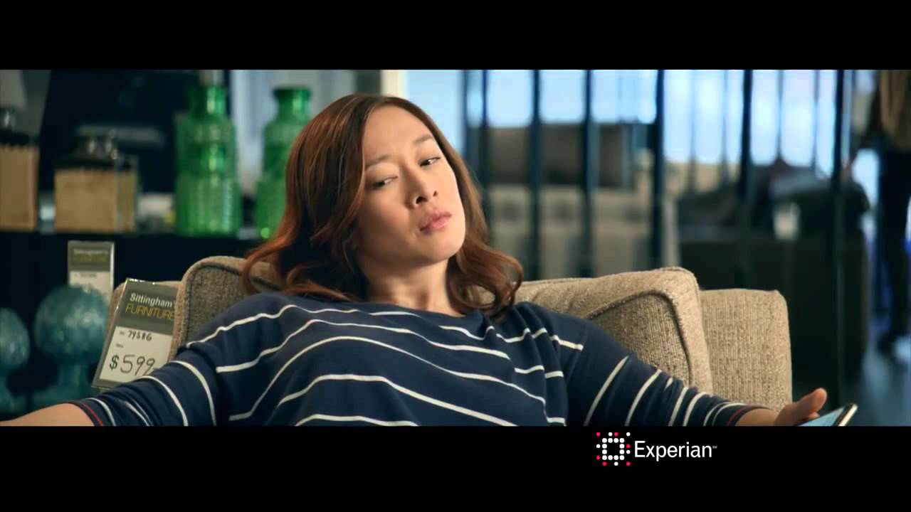 "Experian Commercial 2015 HD ""Furniture Showroom"" Commercial 30 – Credit Swagger"