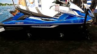 10. 2018 YAMAHA FX CRUISER SVHO SUPERCHARGED WAVERUNNER ON DISPLAY @ NEW YORK BOAT SHOW