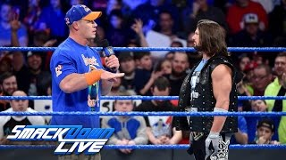 Nonton Aj Styles Calls Out John Cena  Smackdown Live  Jan  24  2017 Film Subtitle Indonesia Streaming Movie Download