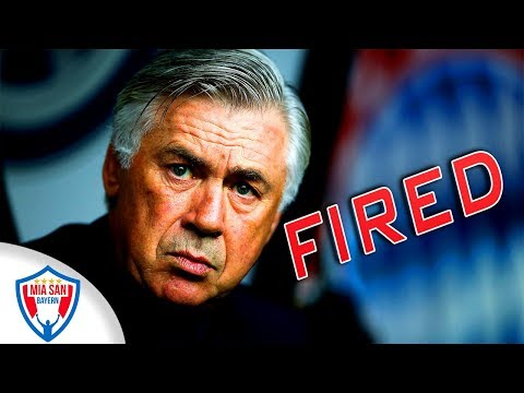 Ancelotti FIRED | Who will Replace him? |FC Bayern