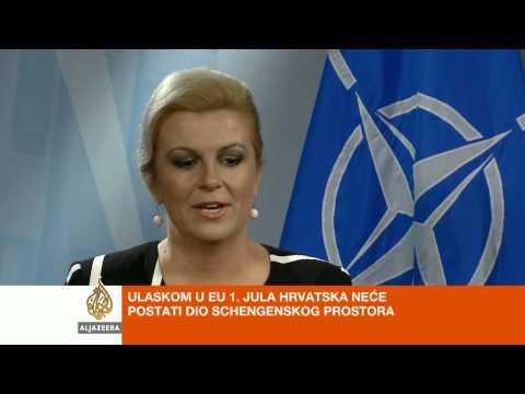 Kolinda Grabar Kitarović O Ulasku Hrvatske U EU