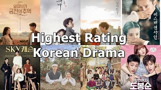 [TOP 20] Highest Rating Korean Dramas in Cable TV of All Time (Updated 2019)