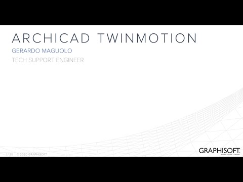 Render Video con ARCHICAD e Twinmotion