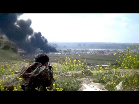 Syrien: Heftige Kämpfe in der letzten IS-Bastion Baghus