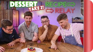 Recipe Relay Challenge: DESSERT (TAKE 2!!) | Pass It On S2 E1 by SORTEDfood