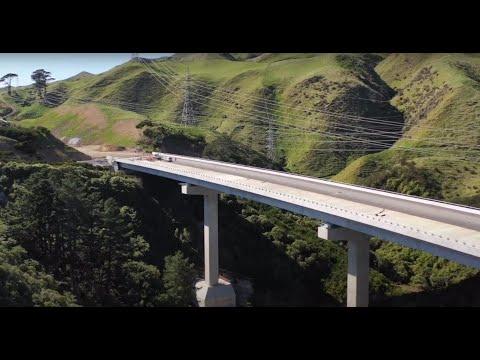 Sneak peek at the Transmission Gully Motorway - October 2020